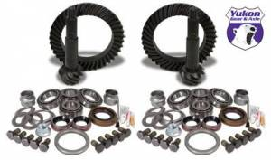 Gear and Install Kit Packages - Yukon Gear & Axle - Yukon Gear & Install Kit package for Jeep TJ Rubicon, 4.56 ratio.