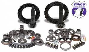 Gear and Install Kit Packages - Yukon Gear & Axle - Yukon Gear & Install Kit package for Jeep XJ & YJ with Dana 30 front and Model 35 rear, 4.56 ratio.