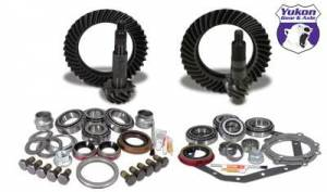 Gear and Install Kit Packages - Yukon Gear & Axle - Yukon Gear & Install Kit package for Standard Rotation Dana 60 & 88 & down GM 14T, 4.56 thick.