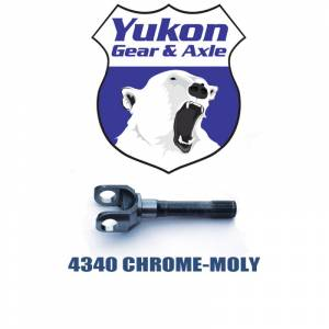 Axles - Dana 30 Axles - Yukon Gear & Axle - Yukon 4340 Chrome-Moly replacement outer stub for Dana 30 and 44 (CJ and Scout), uses 5-760X u/joint (YA W38248)