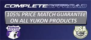 Yukon Gear And Axle - Dana 30 30Spline Disconnect block-off kit. (includes seals and plate) (YA W39147-KIT-30) - Image 2