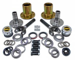 Locking Hubs & Drive Flanges - Locking Hub Conversion Kits - Yukon Gear & Axle - Spin Free Locking Hub Conversion Kit for Dana 60 & AAM, 00-08 SRW DODGE (YA WU-04)