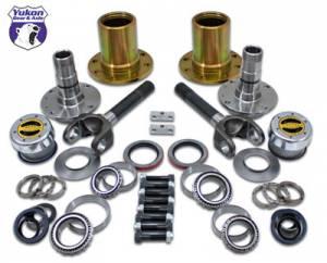"""Locking Hubs & Drive Flanges - Locking Hub Conversion Kits - Yukon Gear & Axle - Spin Free Locking Hub Conversion Kit for Dana 30 & Dana 44 TJ, XJ, YJ, 27 Spline, 5 x 4.5"""" (YA WU-07)"""