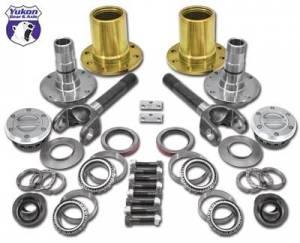 Locking Hubs & Drive Flanges - Locking Hub Conversion Kits - Yukon Gear & Axle - Spin Free Locking Hub Conversion Kit for 2012-2015 Dodge 2500/3500, SRW (YA WU-13)