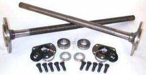 Yukon Gear & Axle - One piece axles for Model 20 Quadratrack with bearings and 29 splines (1976-1979 Jeep CJ)