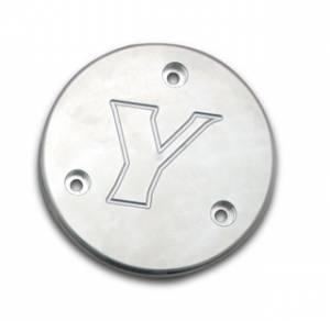 Spindles & Wheel Hubs - Spindles - Yukon Gear & Axle - Dana 44 Drive Flange Cap, Yukon Engraved (YP DFC-SM-Y)