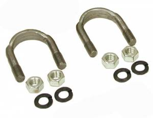 "Yokes - Ford 9"" Yokes - Yukon Gear & Axle - 1310 and 1330 U/Bolt kit (2 U-Bolts and 4 Nuts) for 9"" Ford. (YY UB-F9-1310)"