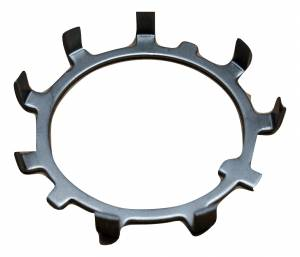 """Spindles & Wheel Hubs - Spindle Nut Kits & Washers - Yukon Gear & Axle - Spindle nut retainer, 2.030"""" I.D., 8 bent over tabs."""
