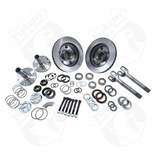 Locking Hubs & Conversion Kits