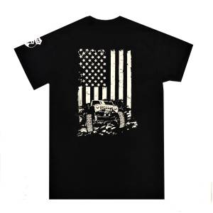 COMPLETE OFFROAD - Complete Offroad American Flag Jeep T-Shirt - Image 2