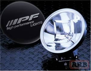 IPF - IPF 968 Series Light Kit with Black Covers (968CSB)
