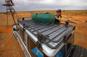 "ARB Racks - Steel - ARB - ARB 43"" X 49"" Roof Rack Basket with Mesh Floor"