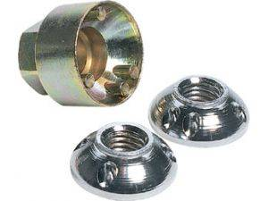 Offroad Lights - IPF Lights - ARB - IPF Anti-Theft Lock Nut Kit - 12mm (DLL12)