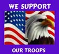 Eagle - We Support Our Troops